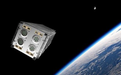 Powering satellites with gallium